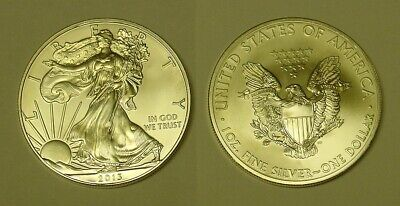 USA. 2013 Silver Dollar. Uncirculated and pretty.