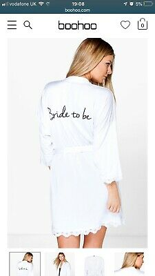 Bride to Be & Bride Tribe Robes for Hen/ Wedding Day - different sizes available