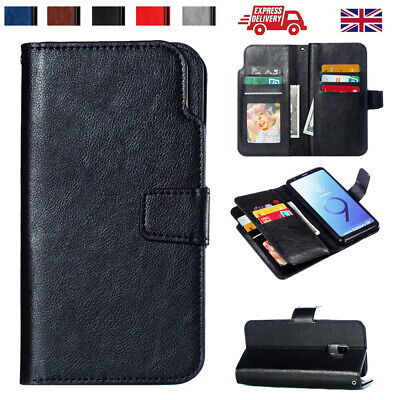 Magnetic Wallet Case For Samsung Galaxy S10 S10+ S9 S7 Flip Leather Stand Cover