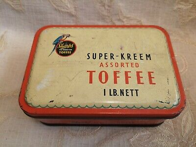 Antique Sharps Super Kreem Assorted Toffee Tin