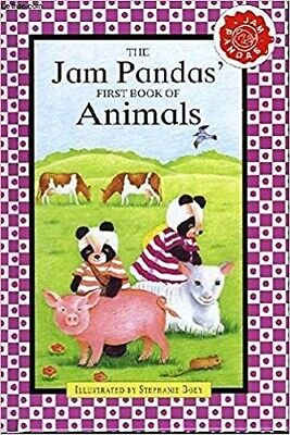 The Jam Pandas First Book of Animals Hardcover – 1996