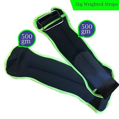 0.5Kg Wrist Ankle Weights Straps Bracelets Strength Training Gym Weight Exercise