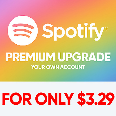 Spotify Premium Upgrade | Lifetime Warranty | For Only $3.29
