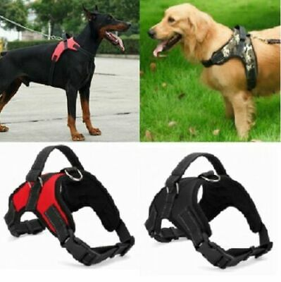 No Pull Dog Pet Adjustable Vest Harness Quality Nylon Small/Medium/Large/XL XXL