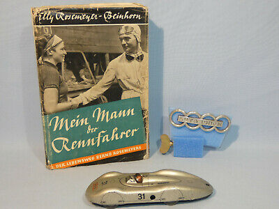 Biller - Autounion Rennwagen / Rosemeyer Buch / Emblem (55153)