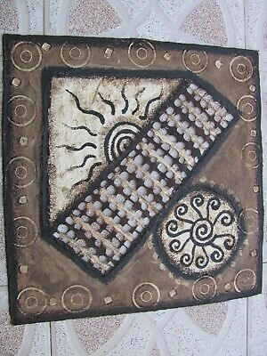 Amate, hand made bark paper from Mexico. 40 cm x 40 cm. New !