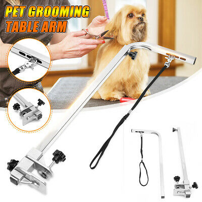 Foldable Pet Dog Grooming Bath Table Adjustable Arm Pet Beauty Desk Portable
