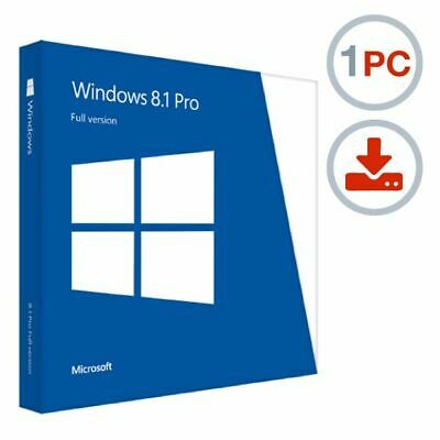 Microsoft Windows 8.1 Professional Pro Prof Key Downloadlink 32Bit x86 Deutsch