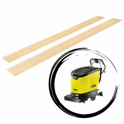 Squeegee Rubber - Set, Complet Oil Resistant For KARCHER BR/BD 45/40 55/40 55/60