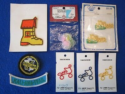 11 New Sew On Patches Butterfly Dupont Jogger Shoe Roller Skate Kali-Ama-Trail