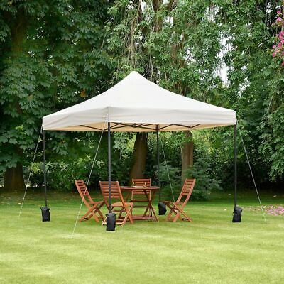 GAZEBO Canopy Party Commercial Waterproof MARKET STALL POPUP TENT 3x3m HEAVYDUTY