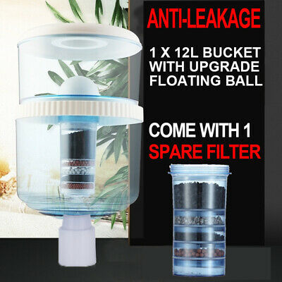 Water Dispenser Purifier Bottle With Filter Container 5 Stage Filtration Ceramic