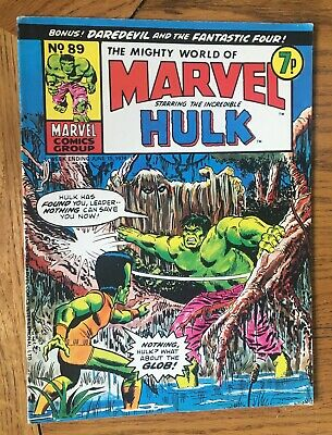 The Mighty World of Marvel No. 89 - June 15, 1974 - Marvel UK Vintage UK Marvel