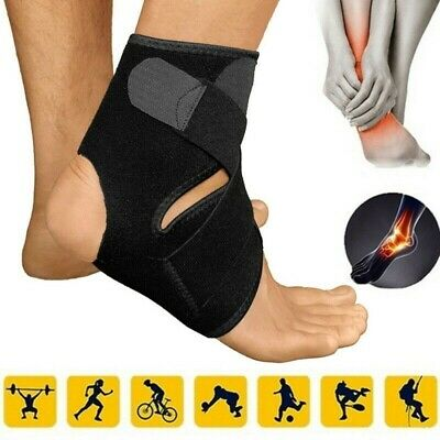 ADULT BLACK MMA ANKLE SUPPORTS MEISTER Muay Thai Compression Kick Boxing Wraps