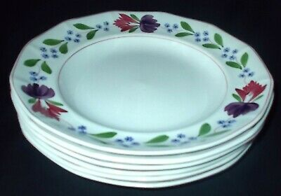 SIX Adams OLD COLONIAL Dinner Plates