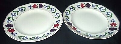 TWO Adams OLD COLONIAL Large Dinner Plates
