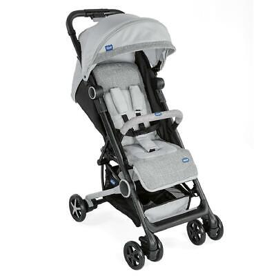Chicco Miinimo 2 Baby Stroller With Bumper Bar (Silver) ON SALE! WAS £160!