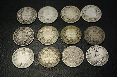 Canada 25 Cents 1899 1900 1901 1902H 1903 1904 1905 1906 1907 1908 1909 1910