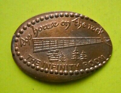 Mount Rushmore South Dakota  Elongated Pressed Penny with brochures maps
