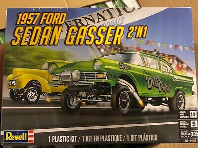 Revell 85-4478 1957 Ford Sedan Gasser 2n1 1/25 MODEL CAR MOUNTAIN  FS
