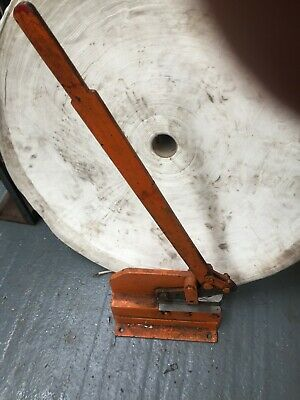 """6"""" guillotine sheet metal - used condition"""