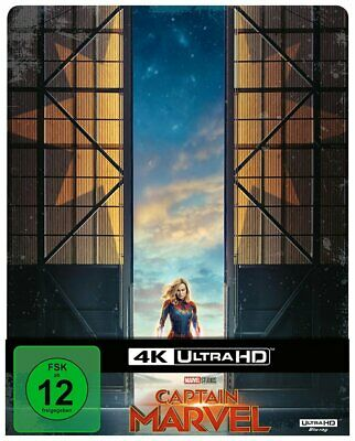 Captain Marvel - 4K Ultra HD Blu-ray / Steelbook # UHD+BLU-RAY-NEU