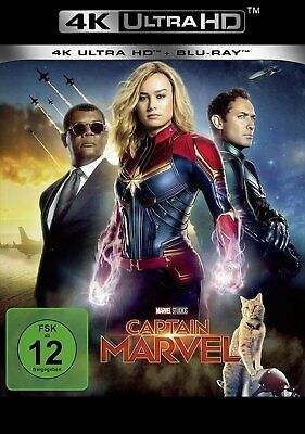 Vorbestellung: Captain Marvel - 4K Ultra HD Blu-ray # UHD+BLU-RAY-NEU