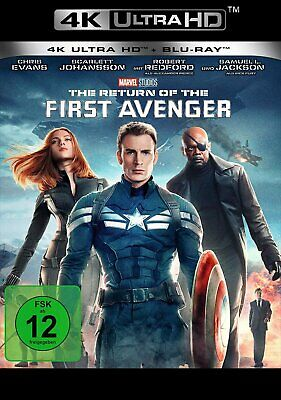 Vorbestellung: The Return of the First Avenger - 4K Ultra HD # UHD+BLU-RAY-NEU