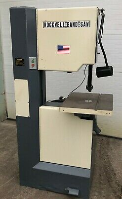 Rockwell Series 28-3x0 Vertical Bandsaw