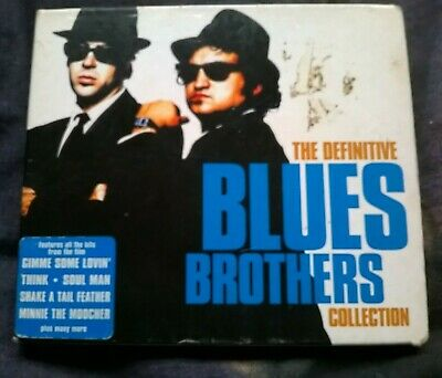 The Definitive Blues Brothers Collection 2000 Double Cd Album