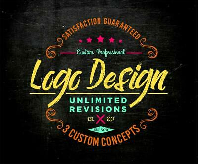 Professional Custom Logo Design | 100% Unlimited Revision w/ Source Files