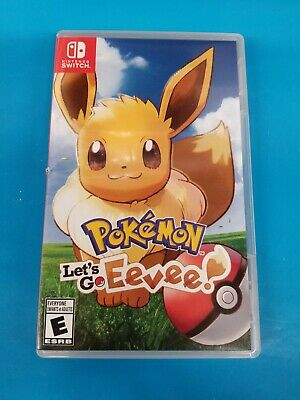 Pokemon Let's Go Eevee! for Nintendo Switch
