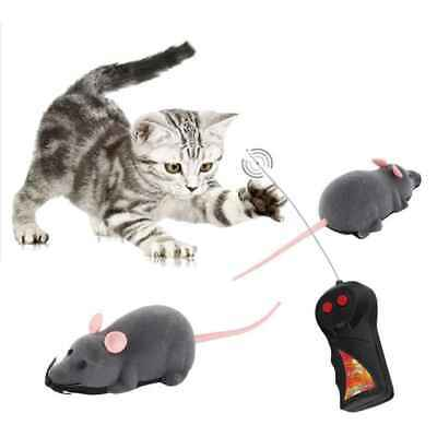 Wireless Remote Control RC Electronic Rat Mouse Mice Toy for Cat Puppy Pets Gift