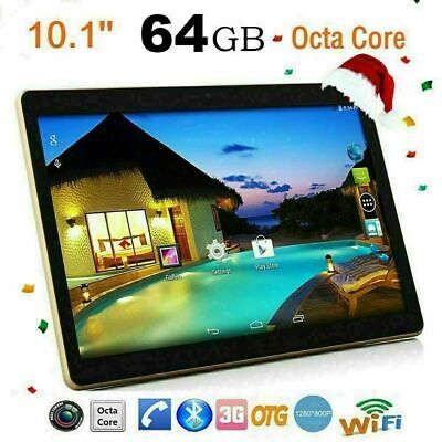 """New 10.1"""" 64GB Android 6.0 Octa Core WIFI Phablet PC Bluetooth 4.0 Tablet PC"""