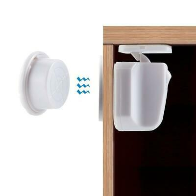 Magnetic Cabinet Drawer Cupboard Locks Catch for Baby Kids Safety Child Proofing