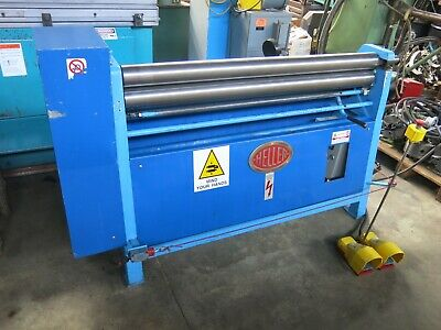 "Heller 49"" x 12ga Powered Sheetmetal Slip Roll Bending Roller"