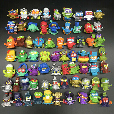 Random 20pc Lot Superzings Series 1 2 & 3 bundle mix mini figure super zings toy
