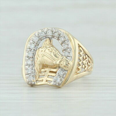 bague en or cheval