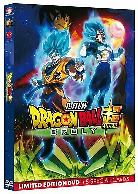 Dragon Ball. Super Broly (lim. edition) (2019) DVD + 5 cards dal 04/07/2019