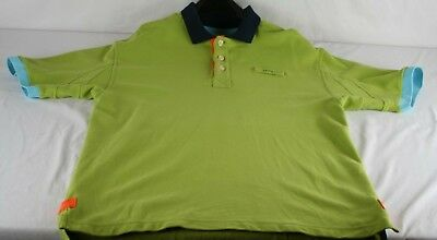 Orvis Mens Size Large L Golf Polo With Embroidered Logo Green Shirt