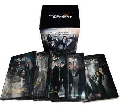 Person of Interest the Complete series 27 DVD Box Set New Free Shipping