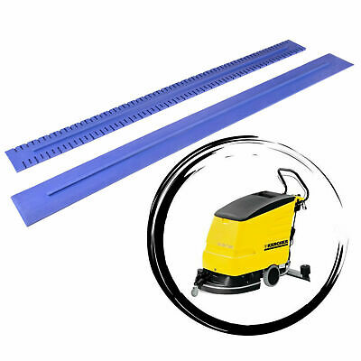 Squeegee rubbers - natural blue rubbers set for KARCHER BR/BD 530 / 530XL / 550