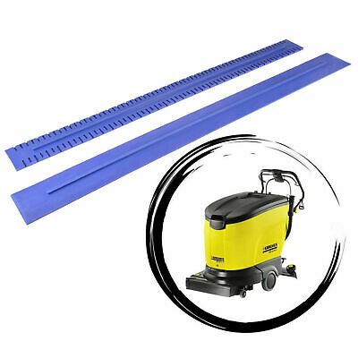 Squeegee rubbers - natural blue rubbers set for KARCHER BR/BD 45/40 55/40 55/60