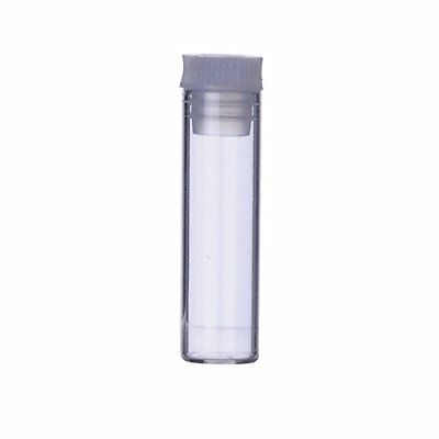 Wheaton ST3809 Specimen Vial with Stopper, Glass/Polyethylene, 2 mL, 11 mm x 38