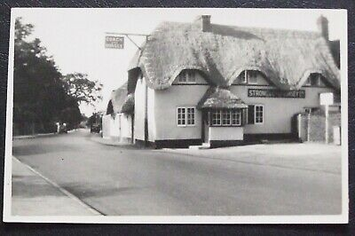 Wimbourne-Dorset~ Real Photograph Postcard~Coach & Horses Inn~Dated Sept 1930