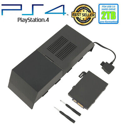 Data Bank Box 8TB Storage Capacity Hard Drive External Game For Sony PS4 New
