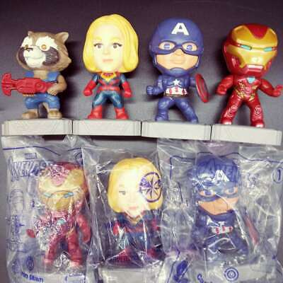 CHOOSE 2019 McDONALD'S MARVEL AVENGERS ENDGAME HAPPY MEAL TOYS CAPTAIN IRONMAN