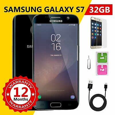 100% GENUINE Samsung Galaxy S7 32GB SMG930 100% Unlocked Smartphone Like New