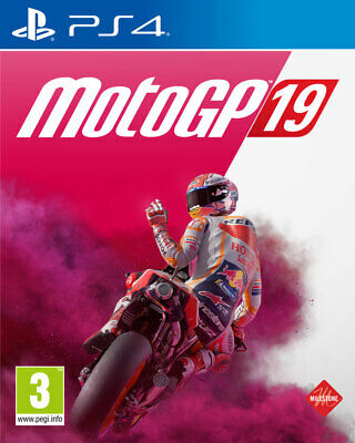 MotoGP 19 (PS4)  BRAND NEW AND SEALED - IN STOCK - QUICK DISPATCH - FREE UK POST