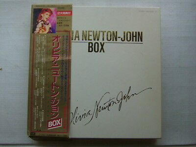 Olivia Newton John Box / Complete With Obi 7Inch Booklets